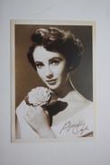 Actress AK Schauspielerin CPA Artiste Cinema   Elizabeth Taylor    Modern Postcard - Attori