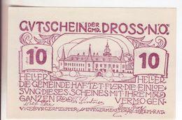 86-Banconote-Carta Moneta Di Emergenza-NOTGELD-Austria-Osterraich-Emergency Money-10 Heller-1920-vinaccio - Oostenrijk