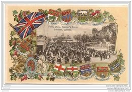 FERRY VIEW ,   HANLAN´ S POINT .-- TORONTO ..-- ONTARIO ..-- CANADA ..-- Ferry View .  Carte En Relief . - Canada