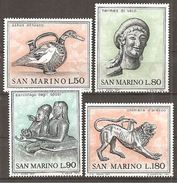 San Marino 1971 // Mi. 980/983 ** (024..505) - Ungebraucht