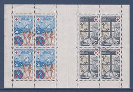 = Croix Rouge 1974 Carnet Oblitéré 1828 L'Eté Et 1829 L'Hiver 18.3.1977 - Gebraucht