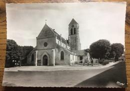 """94 - CPSM - """"SUCY-EN-BRIE (S.-ET-O.) 73209 - L'Église St-Martin (Mon. Hist. Du XIIIè S.)"""" - Neuve - Sucy En Brie"""