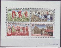 NIGER - BL 2 + 28 ** + BL 15, 18, 25, 42 (o) - Cote 19,75 Euro (K 31) - Niger (1960-...)
