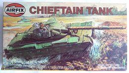 RARE MAQUETTE AIRFIX BOITE CHIEFTAIN TANK 1981 FIGURINE WWII - Figurines