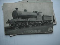 Engeland England Crewe Carlisle Loc. New Six Coupled Express Passenger Engine - England
