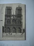 Frankrijk France Frankreich Notre Dame Facade - Notre-Dame De Paris