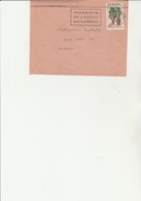 "LETTRE AFFRANCHIE  N° 1122 - EUROPA - OBLITEREE FLAMME ""MALMAISON -ART ET HISTOIRE NAPOLEONIENS ""  CAD 1958 - Marcofilia (sobres)"