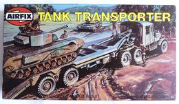 RARE MAQUETTE EN BOITE AIRFIX BOITE TANK TRANSPORTER 1981 FIGURINE WWII - Figurines