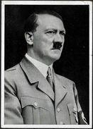 """Propaganda-AK """"A.H."""", Gelaufen - Deutschland"""