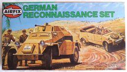 RARE MAQUETTE AIRFIX BOITE GERMAN RECONNAISSANCE SET 1981 FIGURINE WWII - Figurines