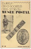 Bulletin De La Societe Des Amis Du Musee Postal - N°39 - Voir Sommaire - Non Classés