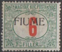 Italie Fiume Taxe 1918-19 N° 7   (E14) - Fiume
