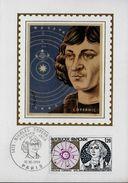 FRANCE  Carte Maxi 1974 Copernic Kopernik Astronomie - Astronomie