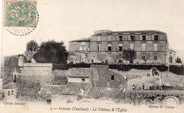 77Aa   84 Ansouis Le Grand Chateau Et L'église - Ansouis