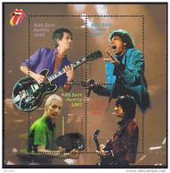 2003  Austria Österreich Mi  Bl 21  **MNH  The Rolling Stones. - Blocks & Sheetlets & Panes