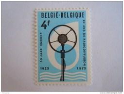 België Belgique Belgium 1973 50 Jaar Ans Radio Microfoon Microphone Yv 1684 COB 1691 MNH ** - Belgien
