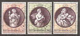 San Marino 1969 // Mi. 939/941 O (024..541) - Gebraucht