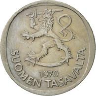 Finlande, Markka, 1970, TTB, Copper-nickel, KM:49a - Finlande