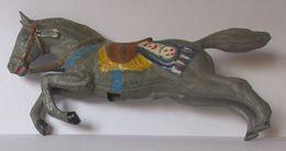 Figurine Cheval Plastique Beffoid Longueur Environ 11 Cm - Figurines