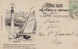 L'Etoile Bleue --- Sociéte Belge De Tempérence   Anti Alcolique+scan - Health