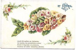 1ER AVRIL - POISSON D'AVRIL - Fleurs - 1er Avril - Poisson D'avril