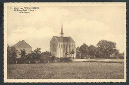 +++ CPA - Kerk Van WIEMISMEER O/ ZUTENDAAL - Cachet Relais   // - Zutendaal