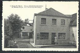 +++ CPA - FOURON SAINT MARTIN - ST MARTENS VOEREN - Maison Droeven - Michiels - Commerce   // - Voeren