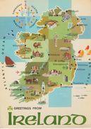 (MAP50) IRELAND MAP. MAPE - Irlanda