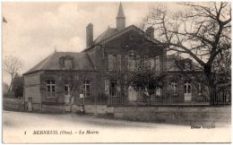 60 BERNEUIL - La Mairie   (Recto/Verso) - France
