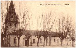 33 LA TESTE-de-BUCH - L'église   (Recto/Verso) - Otros Municipios