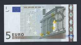 (BE015)  - 5 € - SPAIN V - JC TRICHET - SC/UNC  (M012J3) - EURO