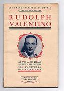 RUDOLPH VALENTINO LES GRANDS ARTISTES DE L'ECRAN Brochure BOOK CA1927 MOVIE FILM - Books, Magazines, Comics
