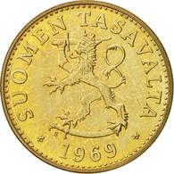 Finlande, 50 Penniä, 1969, TTB+, Aluminum-Bronze, KM:48 - Finlande