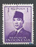 Indonesia 1951. Scott #387 (U) President Sukarno, Président - Indonésie