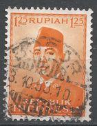 Indonesia 1953. Scott #388 (U) President Sukarno, Président - Indonesia
