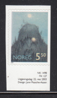 Norway 2003 Scott #1361 5.50k Forest Troll - Fairytale Illustrations - Contes, Fables & Légendes