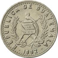 Guatemala, 25 Centavos, 1992, SUP, Copper-nickel, KM:278.5 - Guatemala