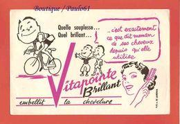 BUVARD :VITAPOINTE  Le Courreur Cycliste - Sports