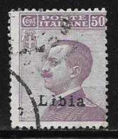Libya, Scott #11 Used Italy Stamp , Overprinted, 1912 - Libya