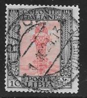 Libya, Scott #23 Used Diana, 1921 - Libya