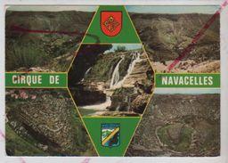 Cpm 3010607 Le Massif De L'aigoual Le Cirque De Navacelles Coté Gard Et Coté Hérault 5 Vues Sur Carte - France
