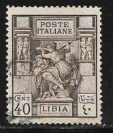Libya, Scott #40 Used Sibyl, 1924 - Libya