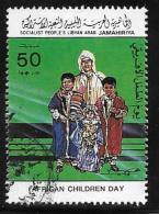 Libya, Scott #1165b Used African Childrens Day, 1984 - Libya