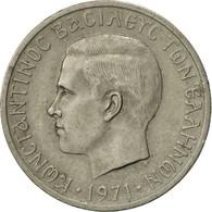 Grèce, Constantine II, Drachma, 1971, TTB, Copper-nickel, KM:98 - Grèce