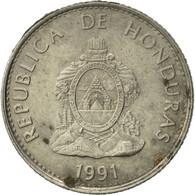 Honduras, 20 Centavos, 1991, TTB+, Nickel Plated Steel, KM:83a.1 - Honduras