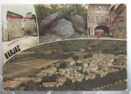 Cpm 3010612 Barjac 4 Vues Sur Carte - France