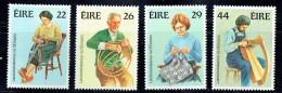 1984  Handicrafts Weaving, Basketweving, Irish Crochet, Harpmaking   MNH ** - 1949-... République D'Irlande