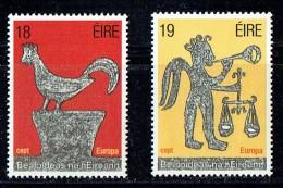 1981  Europa Set  Rubbings   MNH ** - 1949-... République D'Irlande
