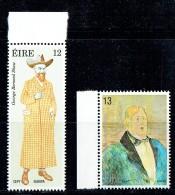 1980  Europa Set  Writers: Portraits: George Bernard Shaw, Oscar Wilde    MNH ** - 1949-... République D'Irlande