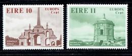 1978  Europa Set  Monuments: Conolly Folly, Dromoland Belvedere    MNH ** - 1949-... République D'Irlande